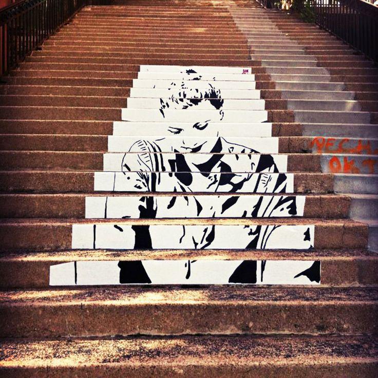Don Mateo - Eve escalier