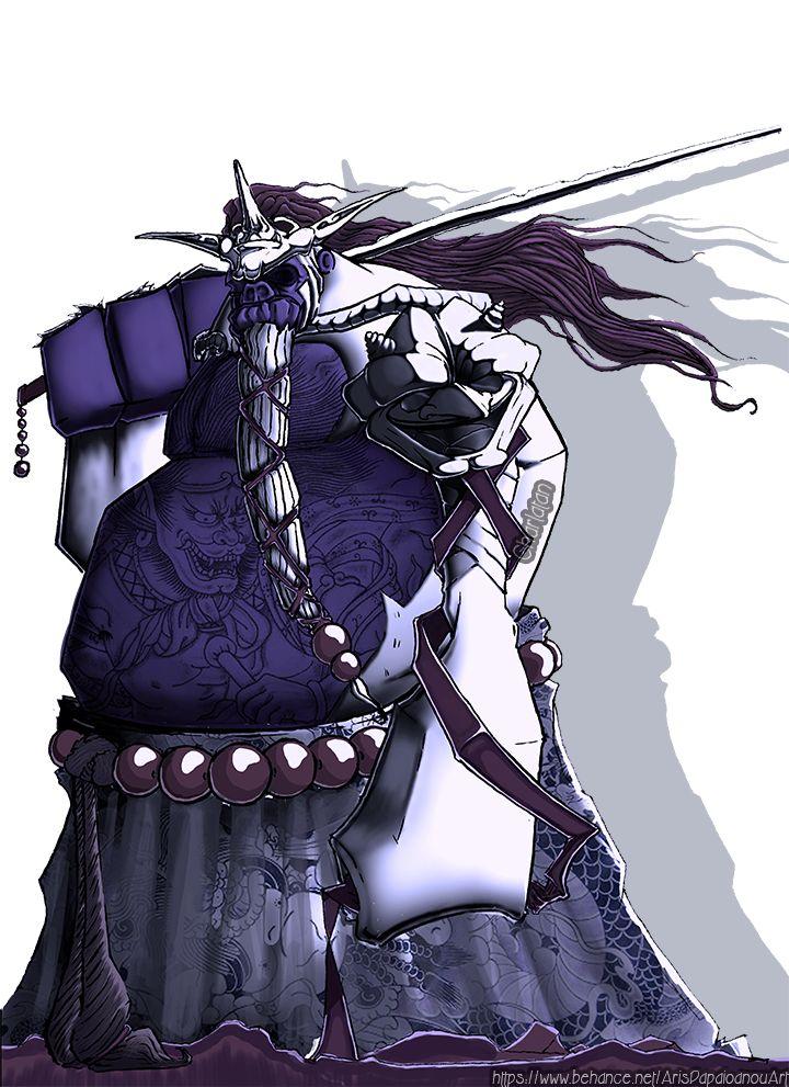 KONGAN - Gorilla Samurai ( Digital Character Design )