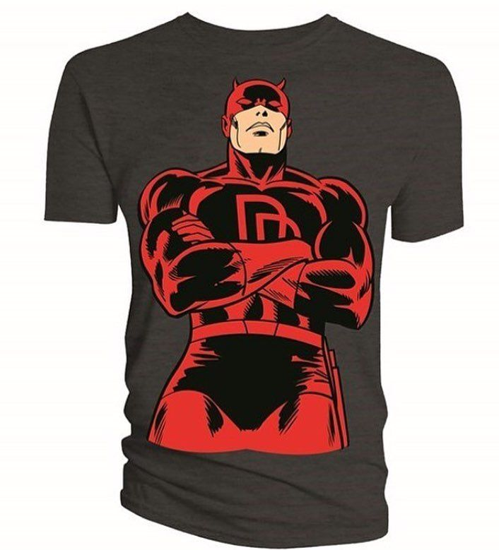 The devil of Hell's Kitchen.  Show your love for your local superheroes at www.dirtees.eu Worldwide shipping.  #daredevil #daredevilnetflix #defenders #thedefenders #netflix #marvel #lukecage #ironfist #jessicajones #mcu #marvelcinematicuniverse #comics #turtles #dirtees