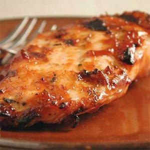 Sweet Baby Rays Crockpot Chicken  4-6 pieces boneless skinless chicken breasts (i threw them in frozen... even easier!)  1 bottle BBQ sauce (sweet baby ray's all the way!)  1/4 c vinegar  1 tsp. red pepper flakes  1/4 c brown sugar  1/2 - 1 tsp. garlic powder