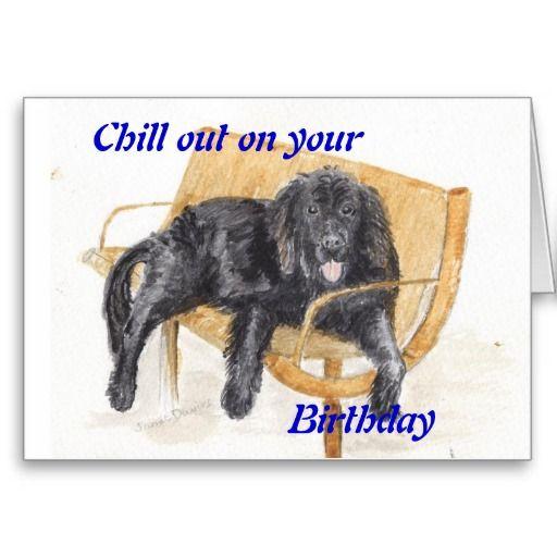 Newfoundland Dog Birthday Card Newfies Pinterest