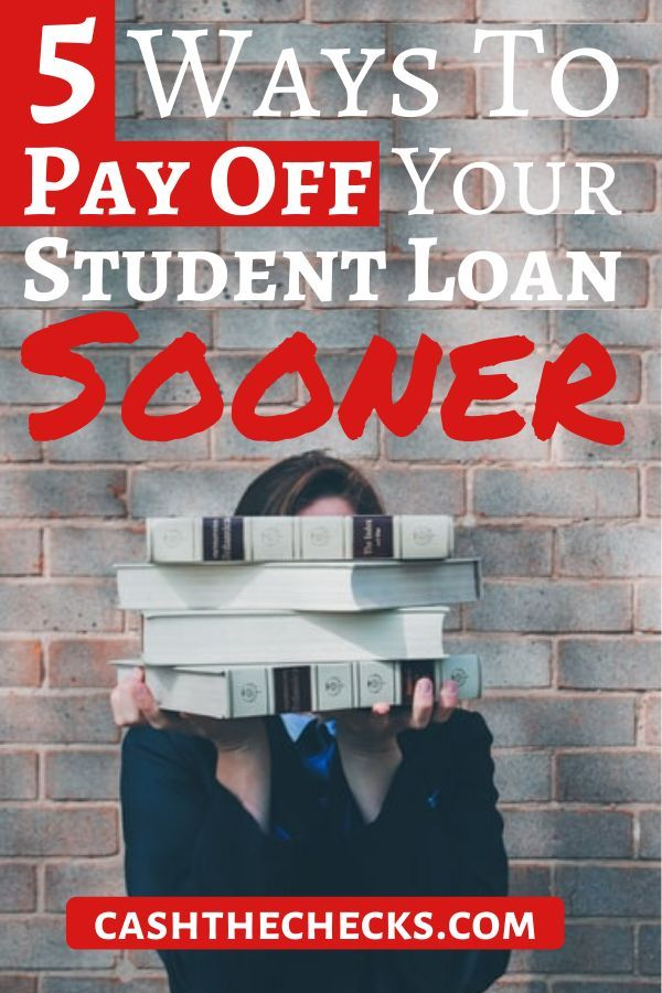 5 Ways To Pay Off Your Student Loan Sooner - Student loans, Student, Paying off student loans - 웹
