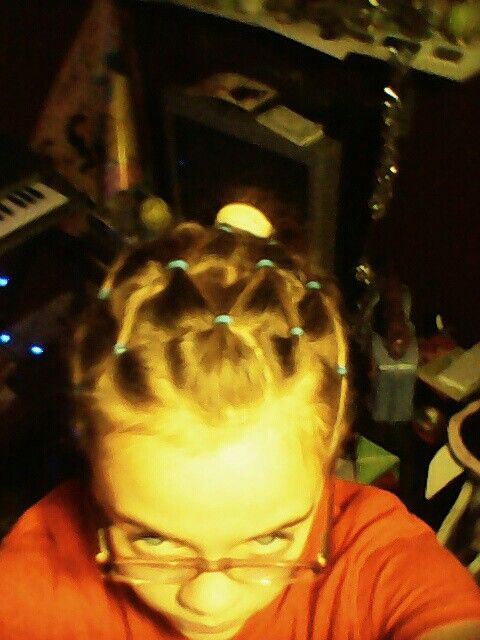 Basketball Net Hairstyle Took For Ever
