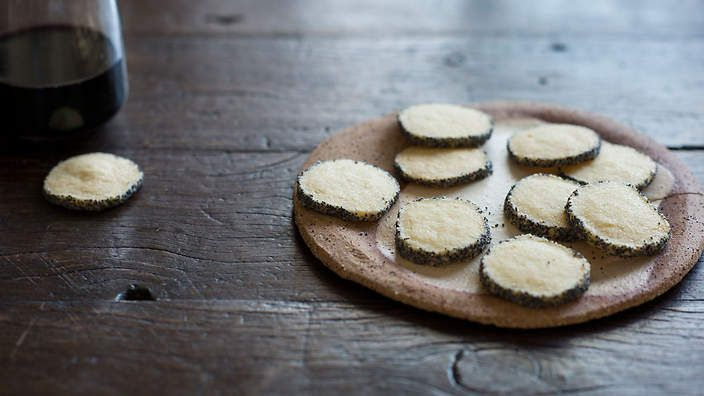 Anneka Manning's parmesan and poppy seed #biscuits are ideal on a cheese plate, or packaged up as an edible gift. Careful though, they can be addictive. Check out our Bakeproof column for tips and recipes.