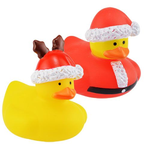 Christmas rubber duckies wholesale craft