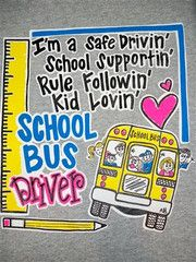 Southern Chics Funny School Bus Driver Sweet Girlie Bright T Shirt | SimplyCuteTees