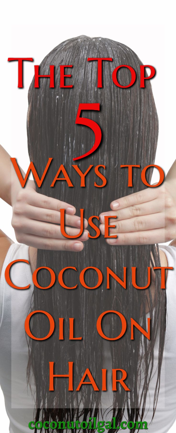Trying to figure out the best way to use coconut oil on your hair can be tricky. Here are the top 5 ways to use coconut oil on hair. Coconut oil mask, coconut oil hair treatment, coconut oil hair balm. Coconut oil can also be used as a detangler.