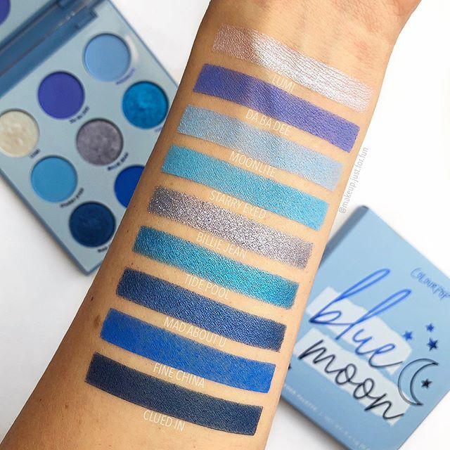 Blue Moon Eyeshadow Palette  by Colourpop #3
