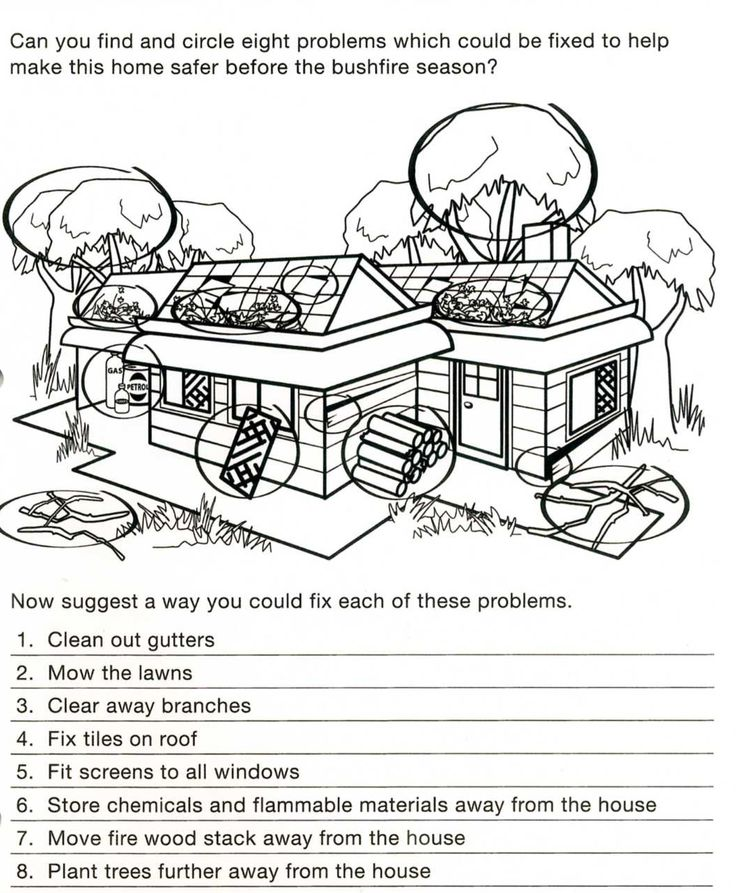 A simple worksheet like this.. e.g. big pictures they can colour and some writing (small sentences etc...)