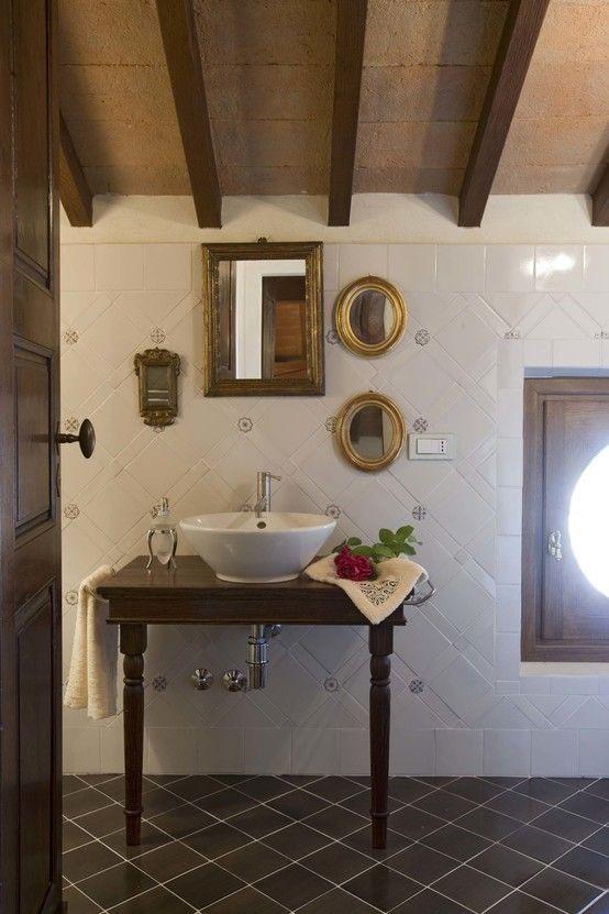 + idee su Arredamento Bagno Rustico su Pinterest  Arredamento bagno ...