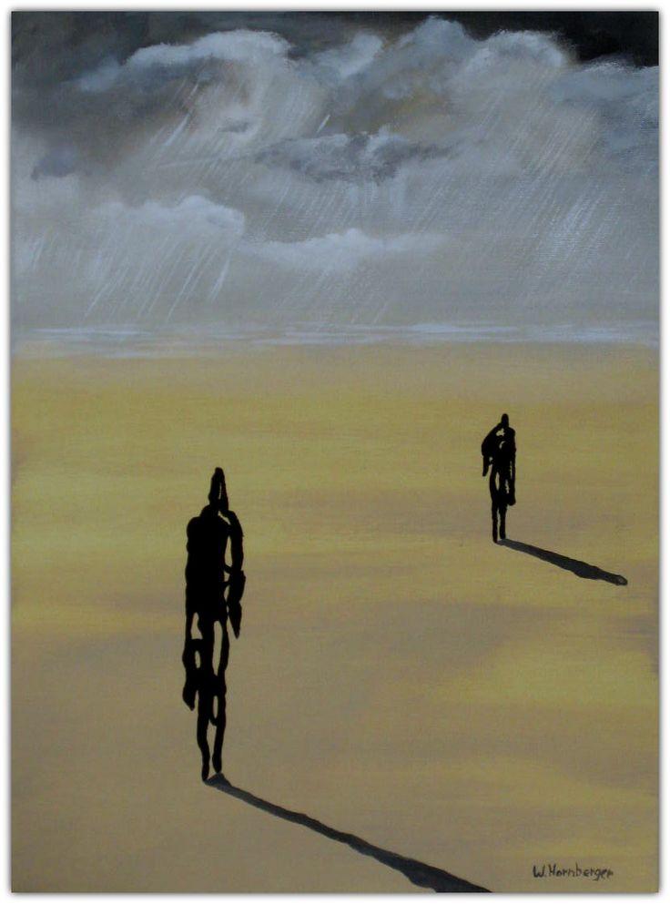 Acryl/Leinwand 30 cm x 40 cm x 1,5 cm Preis 220,- €  The Rainmaker