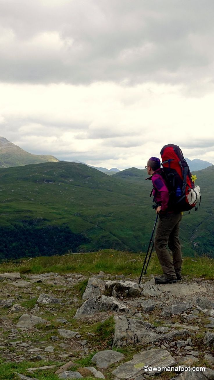 Solo hiking the West Highland Way. Part 3: Inveroran to Fort William. awomanafoot.com