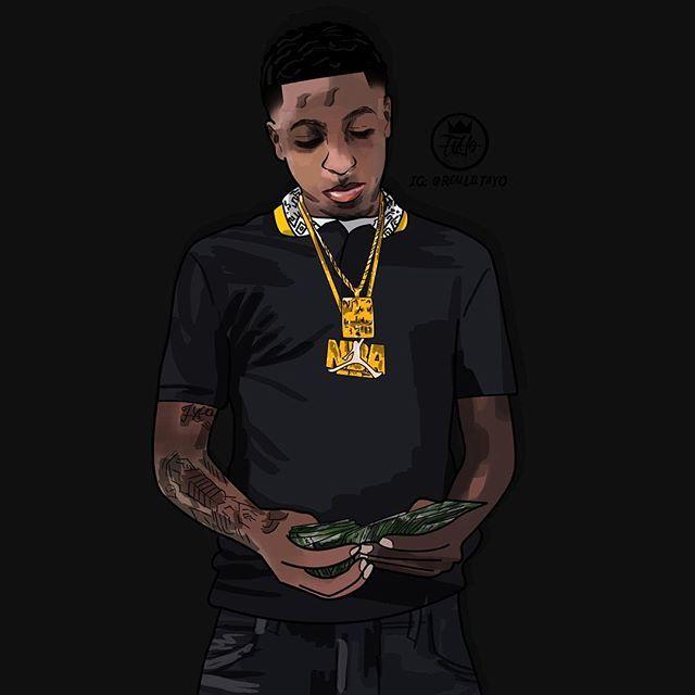 Nba Youngboy Pics Google Search Rapper Art Nba Nba Wallpapers