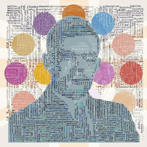 Turing Test (III) 'Enigma' - 30 inch Square - Edition AP 1/1 available - Big Fat Arts | BFA Gallery | Czar Catstick - 1