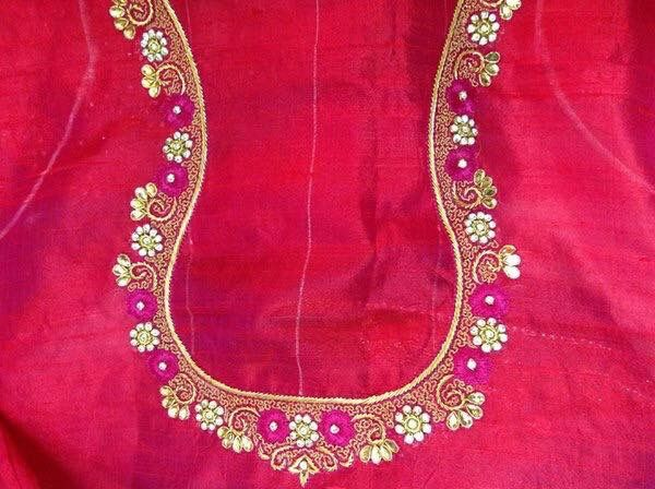 2510 Best Images About Blouse Embroidery Designs On
