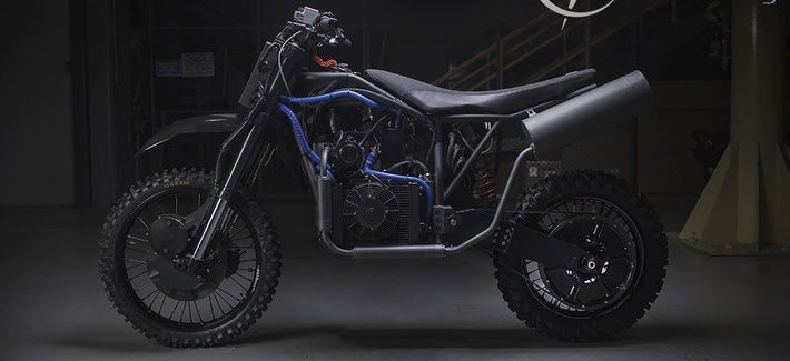What runs on electricity and mystery fuel, moves at 80 miles per hour, generates enough power to run communications gear and is quieter than a conversation?  Say hello to the military's stealth motorbike.    https://rosecoveredglasses.wordpress.com/2016/05/26/the-militarys-new-stealth-bikes/