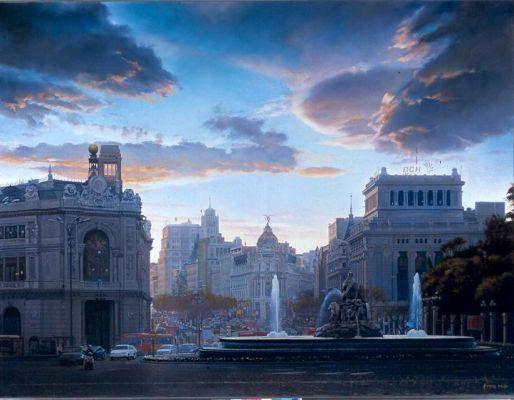 Cielos de Madrid, Modesto Trigo