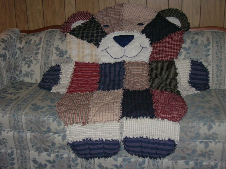 68 Best Images About Rag Quilts On Pinterest Animal