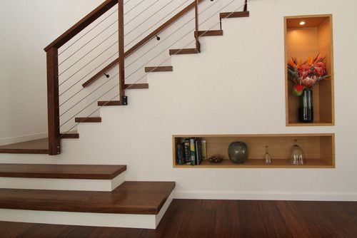 Modern Hawaii modern staircase