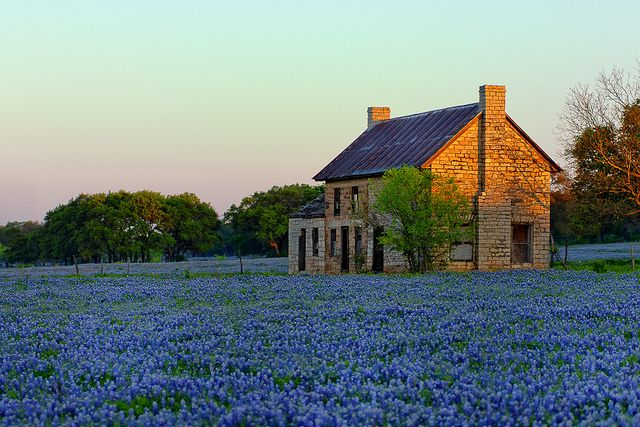 I bet this abandoned house in Marble Falls, TX was beautiful in its day.