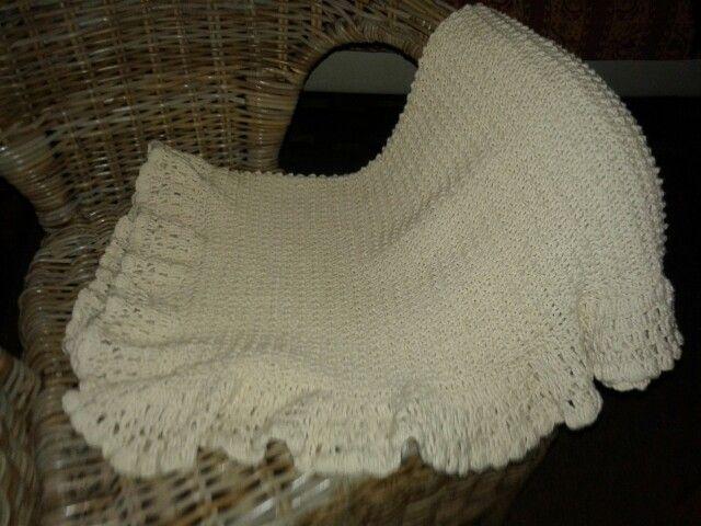 baby blanket baumwolle+silk yarn