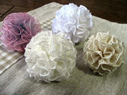 フリルのボンボン♪♪の作り方|ソーイング|編み物・手芸・ソーイング|ハンドメイドカテゴリ|ハンドメイド、手作り作品の作り方ならアトリエ
