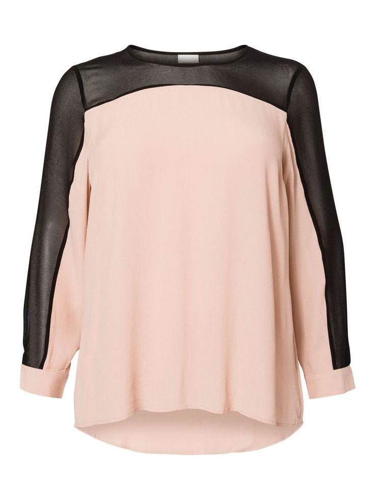 Feminine plus size blouse from JUNAROSE #junarose #plussize #blouse #backtoreality