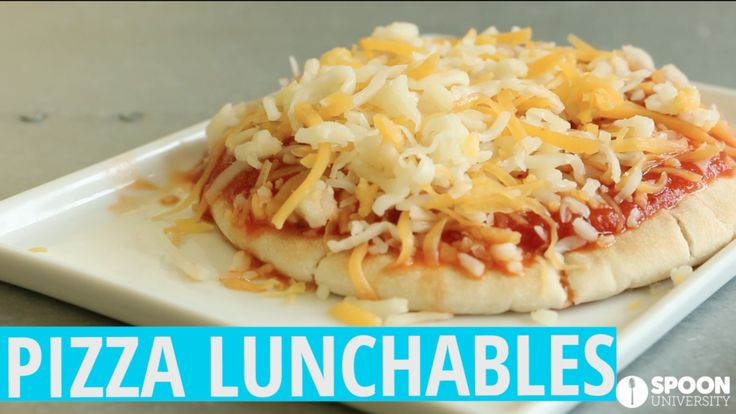 Adult-Sized Pizza Lunchables That Remind You of Your Recess Days