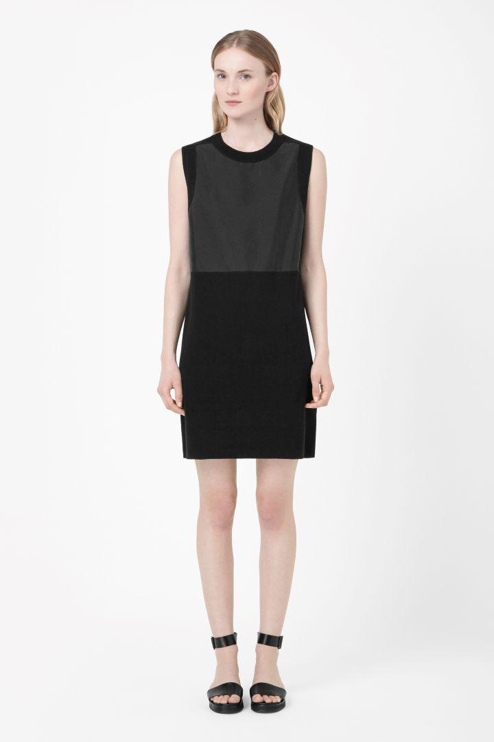 COS | Contrast panel dress