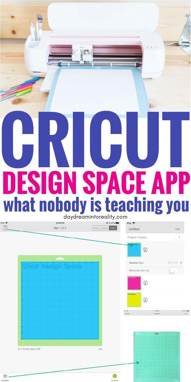 How To Use Cricut Design Space On Your Ipad Phone Full Tutorial Cricut Design Studio How To Use Cricut Cricut