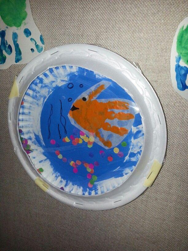 Fish in his fishbowl
