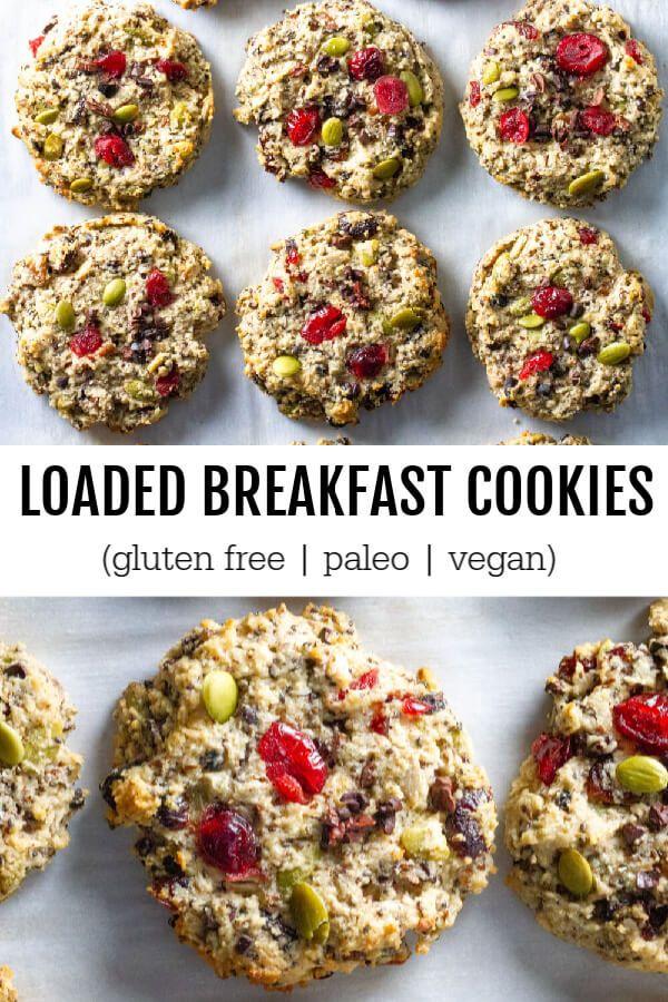 Chunky Monkey Quinoa Breakfast Cookies Simply Quinoa Recipe Breakfast Cookies Breakfast Cookie Recipe Simply Quinoa