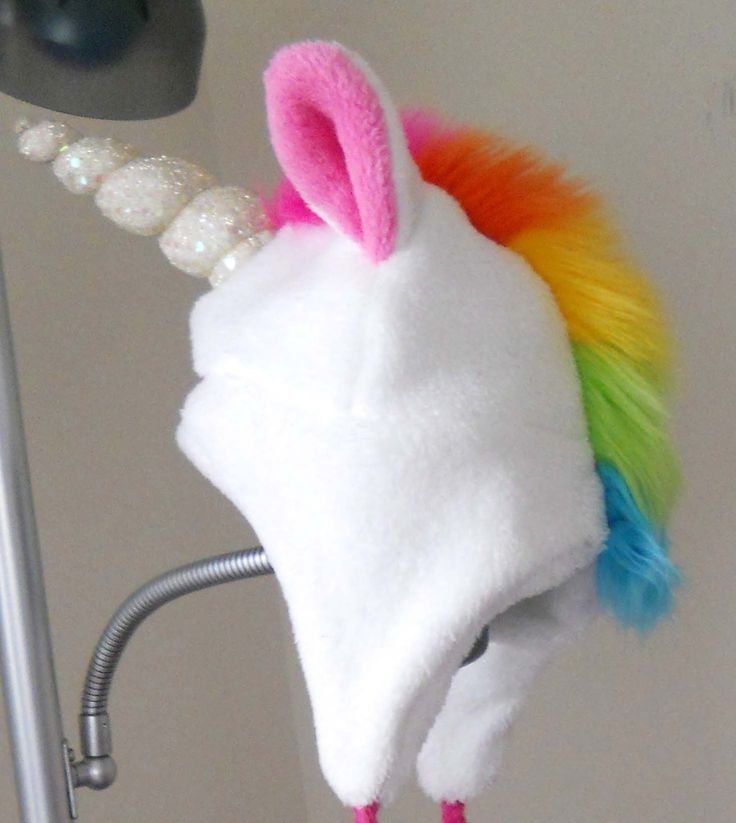Unicorn Hat... For when i feel like wearing something funny and bold!