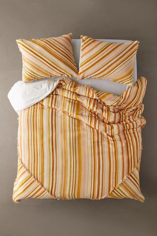 Sabir Striped Duvet Cover Striped Duvet Covers Striped Duvet Duvet Covers