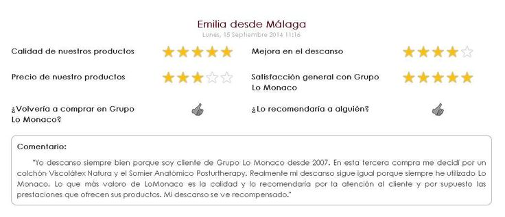 21 best images about opiniones de colchones lo monaco on - Opiniones sobre colchones ...