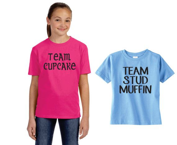 Gender Reveal T Shirt Ideas Team Stud Muffin Or Team