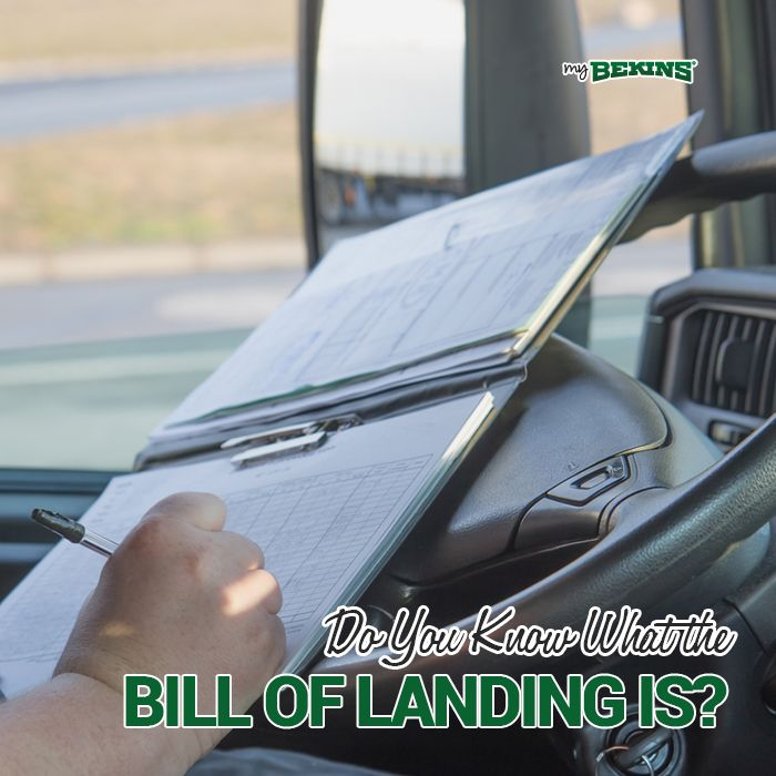 While your priority when moving is getting your possessions from one place to another, it is important that you understand the paperwork involved. One of the most important documents includes the bill of lading.