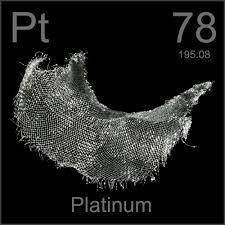 Platino Elemento quimico - 78 Pt