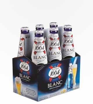 Kronenbourg 1664 Blanc - $9.99 A fresh and fruity French wheat beer with sweet citrus and lemon flavors and aromas. 5% ABV