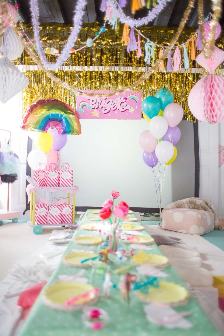 simple rainbow birthday party ideas 47 best