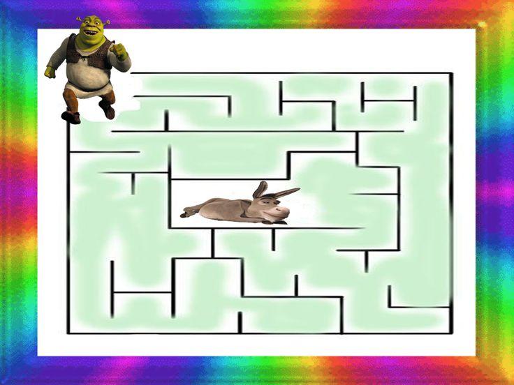 rozprávkový labyrint