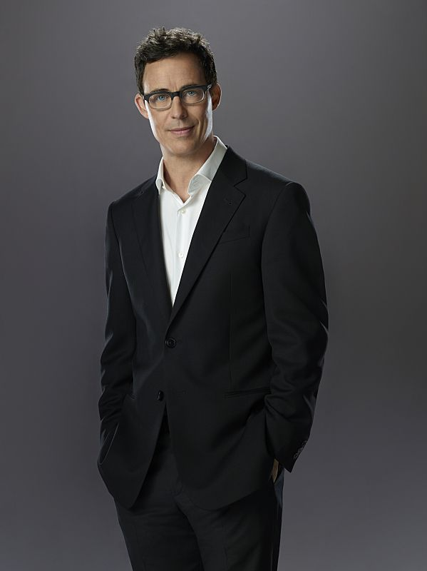 Tom Cavanagh as Harrison Wells (possibly the Reverse Flash)