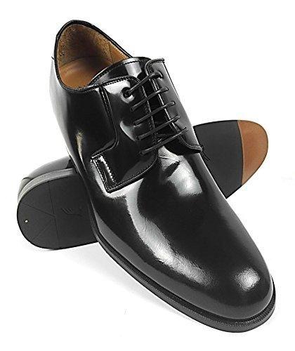 Oferta: 159€. Comprar Ofertas de ZERIMAR Zapatos con alzas interiores para caballeros Aumento + 7 Cm Zapato fabricado en piel vacuna de alta calidad Color eba barato. ¡Mira las ofertas!