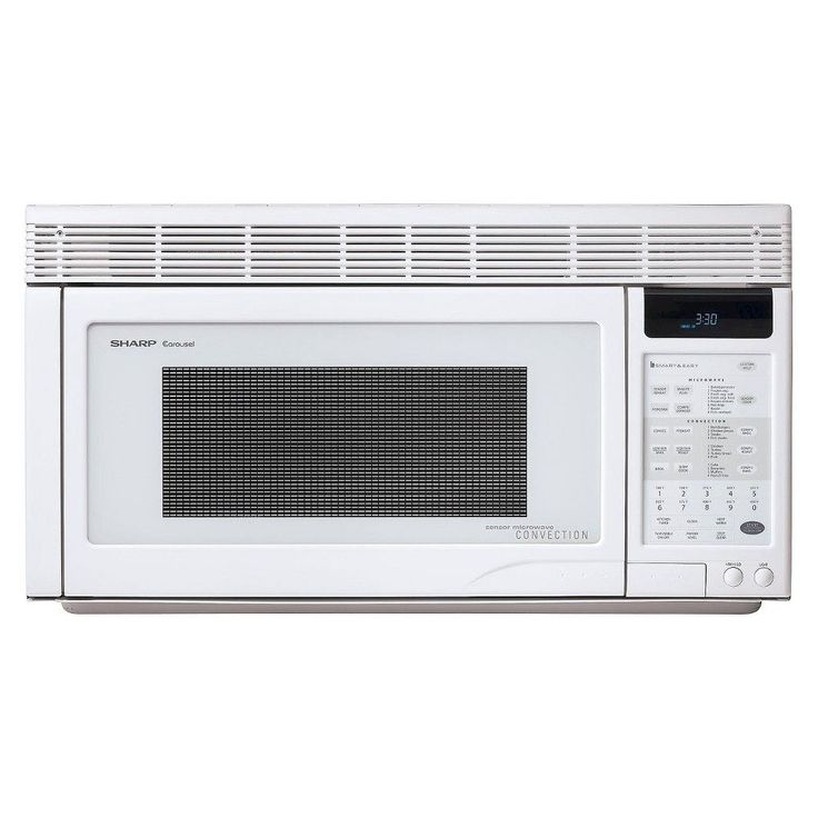 Ft 850 Watt Over The Range Convection Microwave Oven White