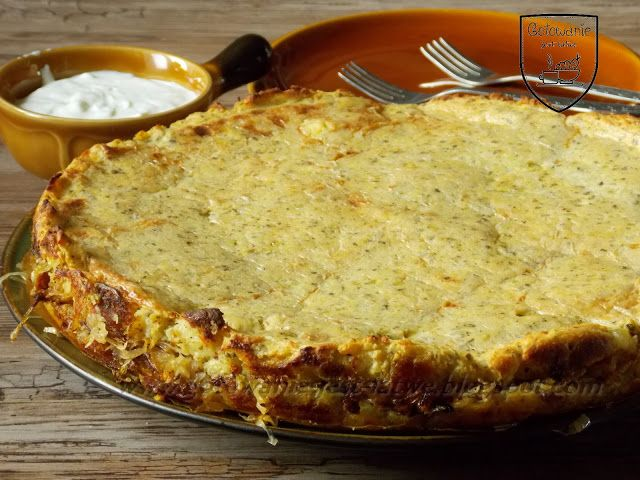 Gotowanie jest łatwe: Wileński placek ziemniaczany z kiszoną kapustą
