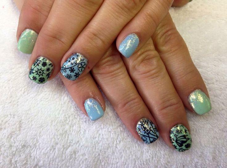 Acryl met nailart