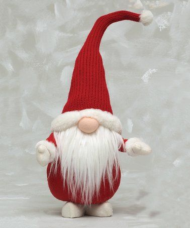 This Standing Santa Gnome Figurine is perfect! #zulilyfinds