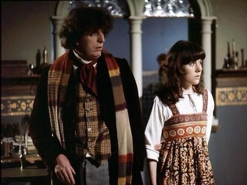 Tom Baker & Elisabeth Sladen - my Doctor and companion. This is where I discovered Doctor Who running in half hour chapters on Channel 2 out of Boston.