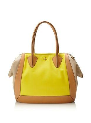 Pour La Victoire Women's Bordeaux Tote Bag (Lemon)