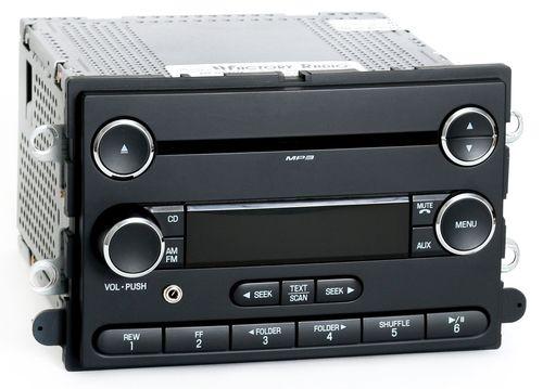 Ford 2008 F250 F350 Super Duty OEM Radio AM FM mp3 CD w Aux Input 8C3T-18C869-CA